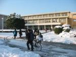 雪の原町高校
